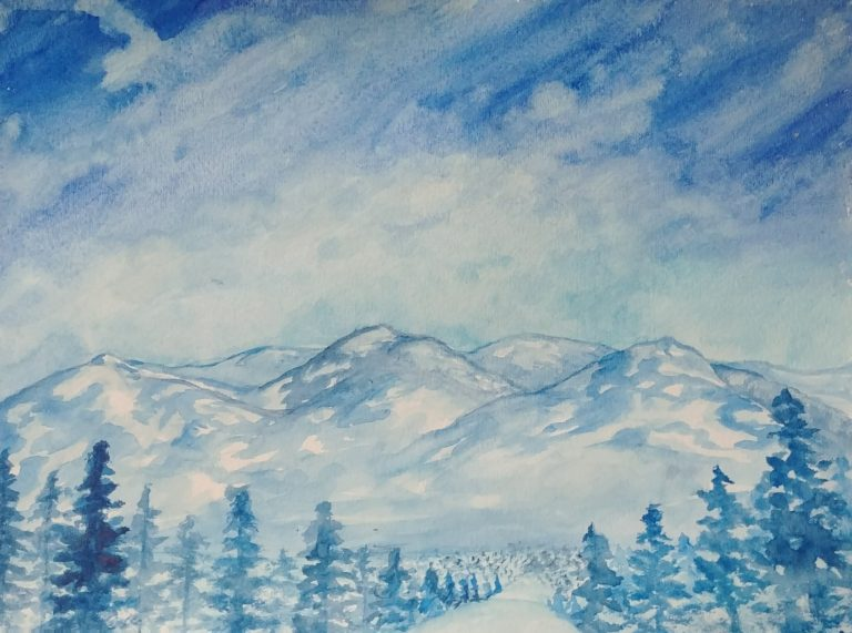 Tahoe Watercolor Prints for Sale
